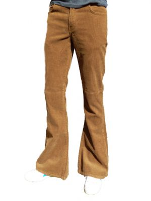 Classic Cords Flare - Corduroy Bell Bottom Flares (GINGER TOBACCO)